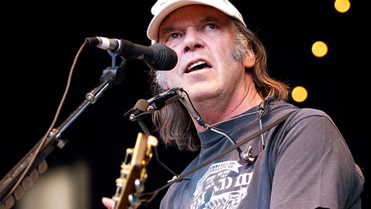 Neil Young and Crazy Horse Take Bonnaroo By Storm