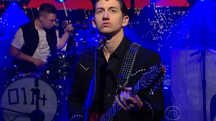 Arctic Monkeys 'Wanna Know' on 'Letterman'