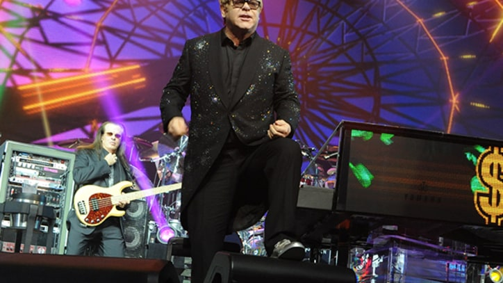 Elton John Releasing Vegas Concert Film, 'Yellow Brick Road' Reissue