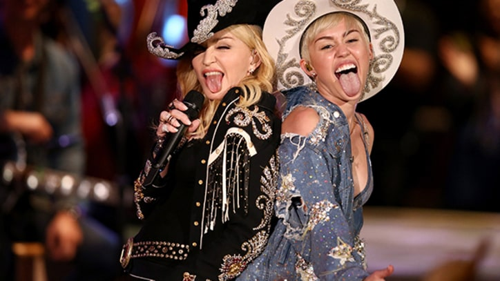 Miley Cyrus Mashes Up 'Unplugged' With Madonna