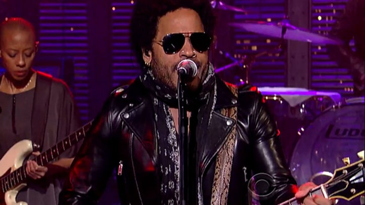 Lenny Kravitz, Paul Shaffer 'Get Back' on 'Late Show' Beatles Week