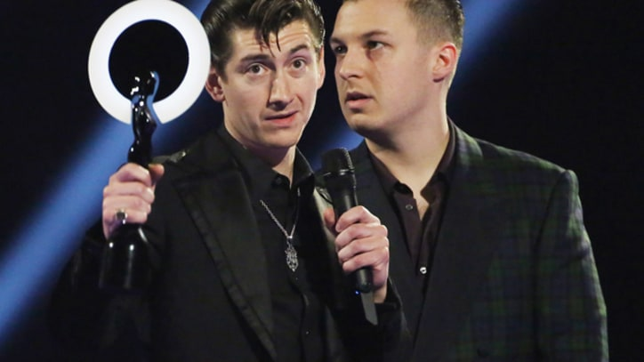 Watch Arctic Monkeys' Alex Turner Defend Rock & Roll at BRIT Awards