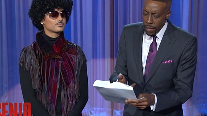 Prince Sends 'Letter-Bearing Clone' to Herald 'Arsenio' Appearance