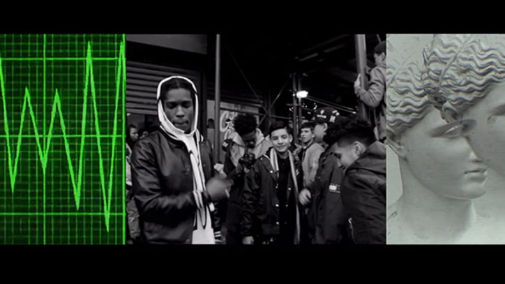 A$AP Rocky Captures Youth Gone Wild in 'Riot Rave' Video