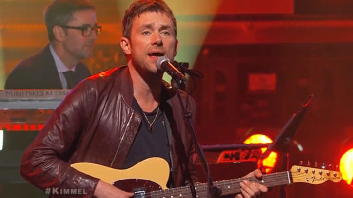 Damon Albarn Debuts Bubbling 'Mr. Tembo' on 'Kimmel'