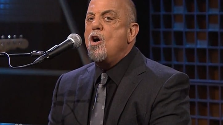 Jimmy Fallon Crashes Billy Joel's 'You May Be Right' on 'Tonight Show'