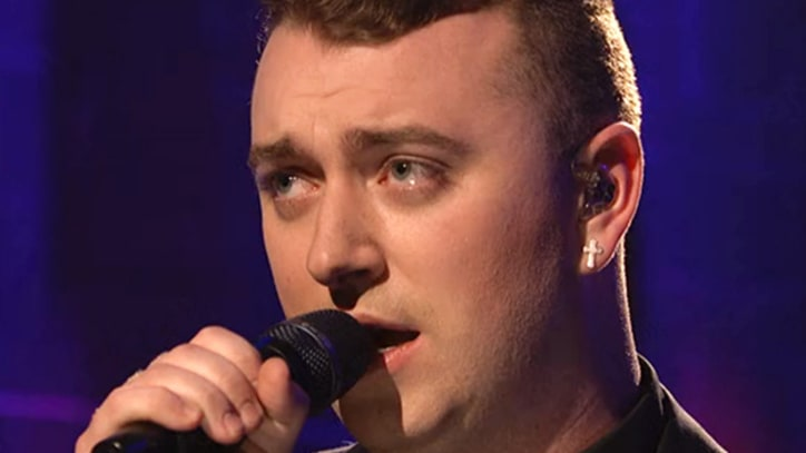 Sam Smith Dazzles in 'SNL' Debut