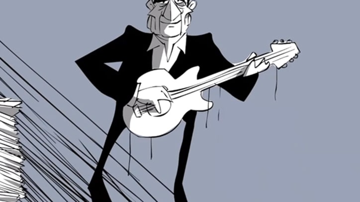 Johnny Cash Talks God, Painkillers and Long Hair in Animated Interview