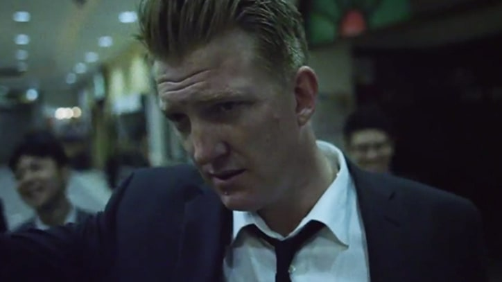 Queens of the Stone Age's 'Smooth Sailing' Clip Captures a Rough Night