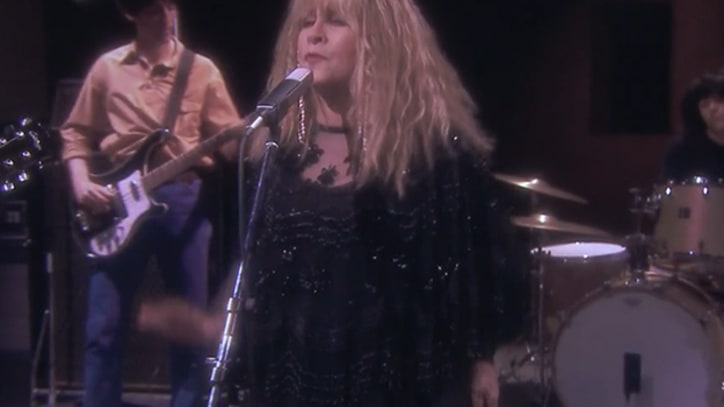 Stevie Nicks, Jimmy Fallon Re-Create 'Stop Draggin' My Heart Around'