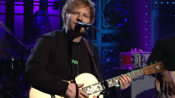 Ed Sheeran Debuts New 'X' Song on 'SNL'