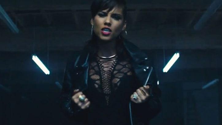 Alicia Keys Promises 'It's On Again' in New 'Spider-Man 2' Music Video