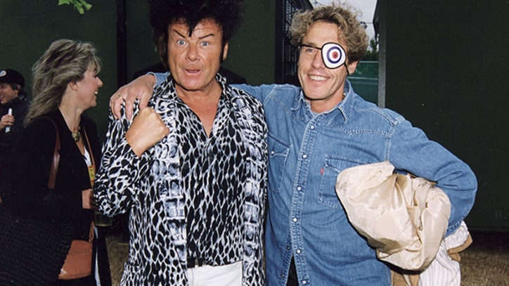 Flashback: See Gary Glitter Nearly Knock Roger Daltrey's Eye Out