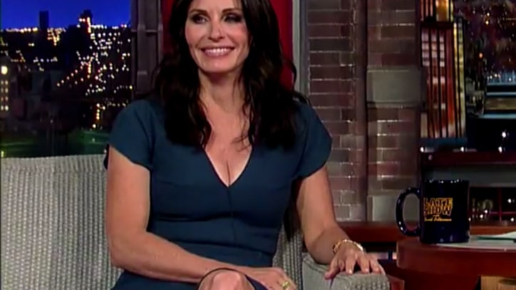 Courteney Cox Dashes Hopes for a 'Friends' Reunion