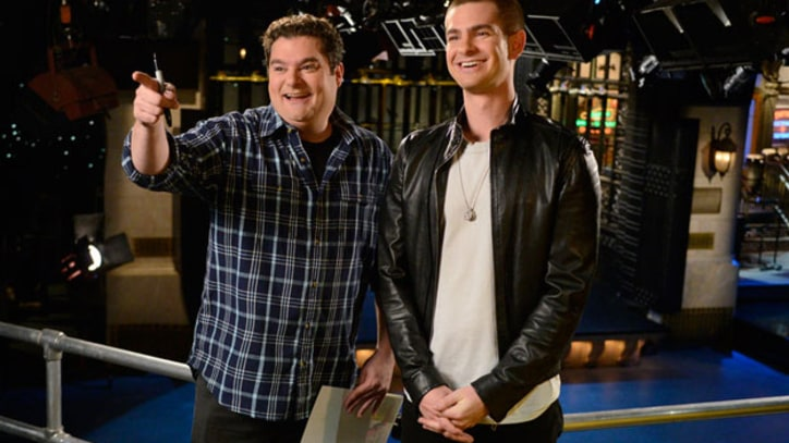 Andrew Garfield Dares to Diss Beyonce, Spoofs Timberlake on 'SNL'