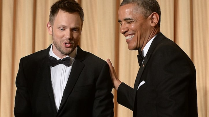 Joel McHale Skewers Washington at White House Correspondents' Dinner