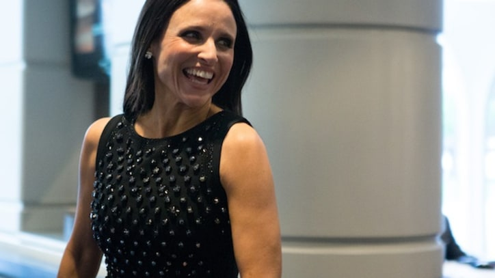 'Veep''s Julia Louis-Dreyfus Makes Trouble With Joe Biden
