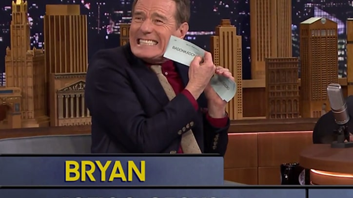 Bryan Cranston Can't Pronounce 'Badonkadonk' on 'Jimmy Fallon'