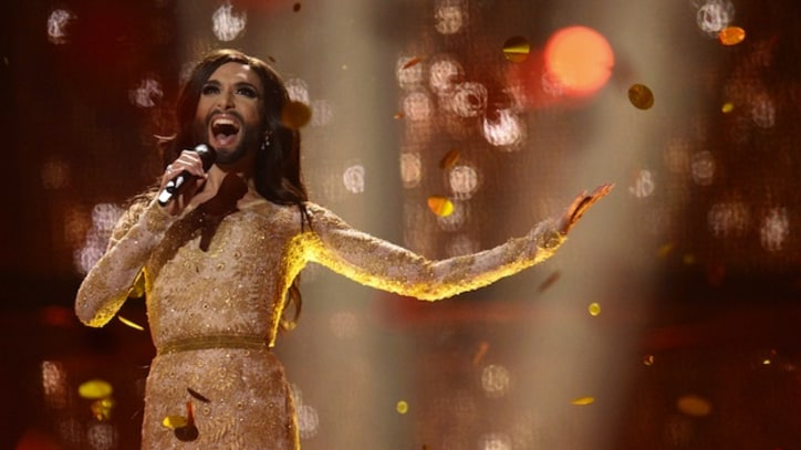 Bearded Drag Queen Conchita Wurst Wins Eurovision Song Contest