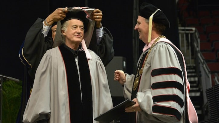 Jimmy Page Receives Honorary Doctorate From Berklee College of Music