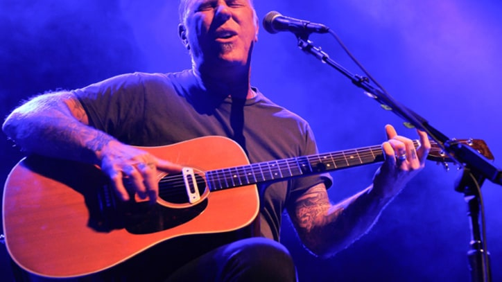Metallica's James Hetfield Plays the Beatles' 'In My Life' on Acoustic