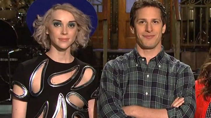 St. Vincent Brings 'SNL' Into the Future