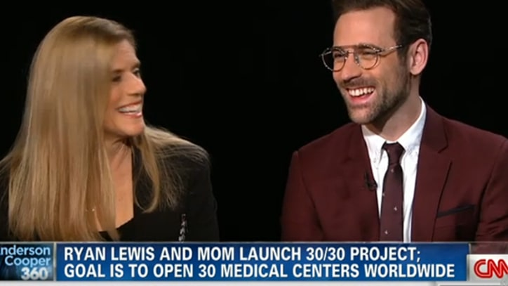 Ryan Lewis and Mom Explain HIV Campaign on 'Anderson Cooper 360'