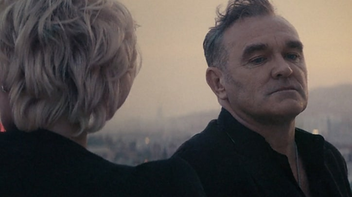 Morrissey and Pamela Anderson Gaze Into Sunset in Spoken Word Video
