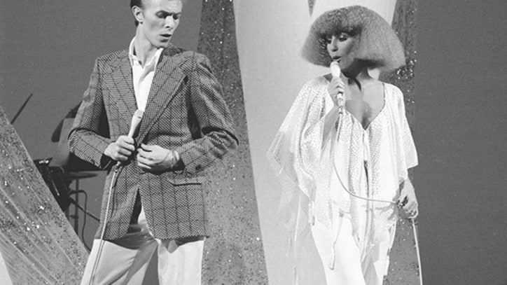 Flashback: David Bowie and Cher Duet on 'Young Americans'