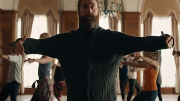 Zach Galifianakis Choreographs Kevin Drew in 'You in Your Were'