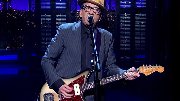 Elvis Costello Wrote 'Letterman' Song Night Before Show
