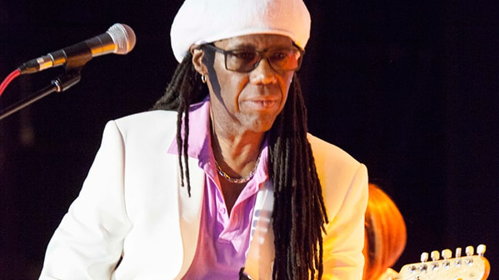 Watch Nile Rodgers Play Daft Punk's 'Get Lucky' for First Time Live