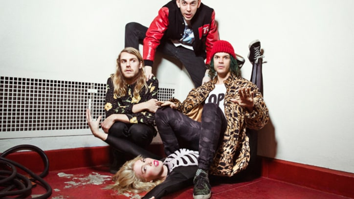 Grouplove Get Tied Up, Covered in Chocolate for 'I'm With You' Video