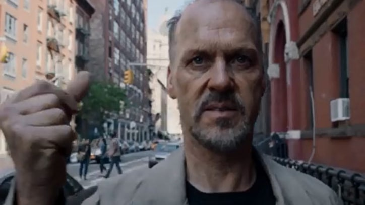 Michael Keaton and Edward Norton Brawl in 'Birdman' Teaser