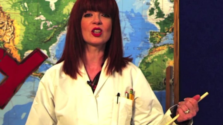 Shirley Manson Teaches German in Revived Series 'Pancake Mountain'