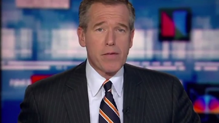 Watch Brian Williams Rap 'Baby Got Back'