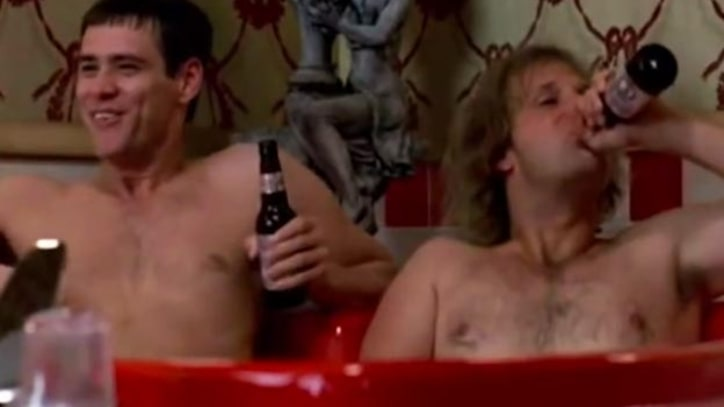 Flashback: The Unedited Jacuzzi Scene From 'Dumb and Dumber'