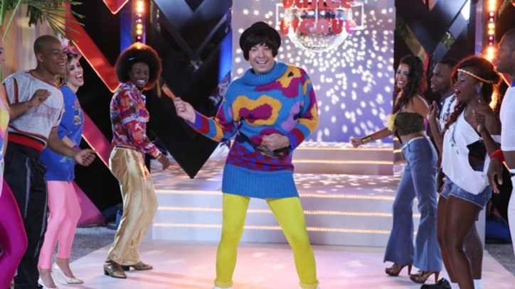 Jimmy Fallon, the Roots Groove on 'Tonight Show' Dance Line Sketch