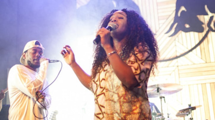 See It First: SZA Performs With Kendrick Lamar and Mac Miller