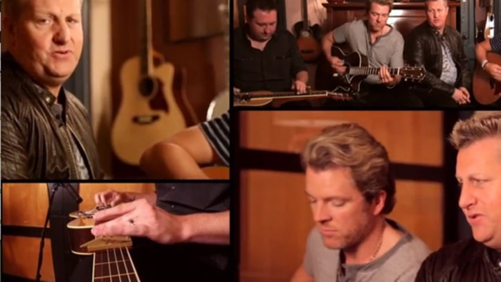 Rascal Flatts Strip Down for 'Fallon'
