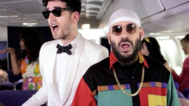 Chromeo Showcase Funky Fake Airline in Funny or Die Video