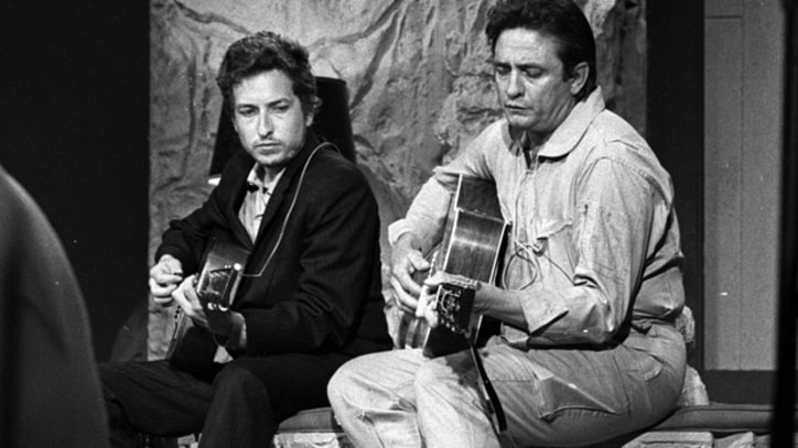 Flashback: See Johnny Cash, Bob Dylan on Cash's TV Show