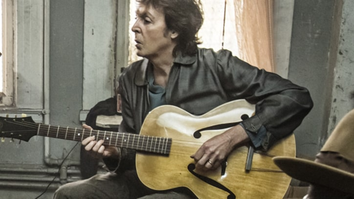 See Paul McCartney Jam With Johnny Depp in 'Early Days' - Premiere