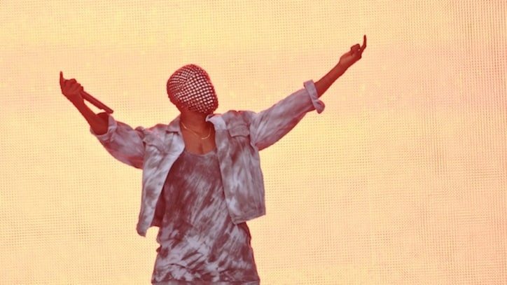 Kanye West Sounds Off on Racism, Fashion Industry at Wireless Festival