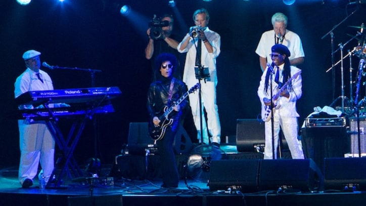 Prince and Nile Rodgers Cover David Bowie at Essence Festival