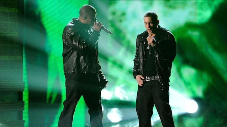 Eminem Brings Out Dr. Dre for Groundbreaking Wembley Concert