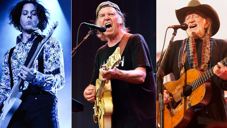 Jack White, Neil Young, Willie Nelson to Headline Farm Aid