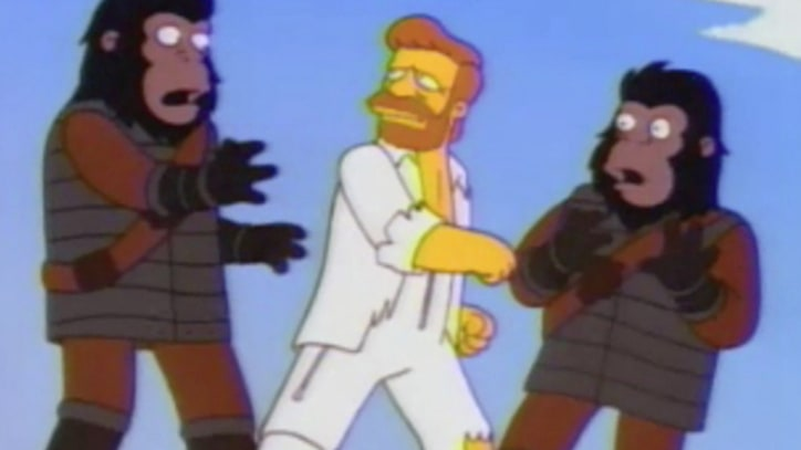 Flashback: 'The Simpsons' Turn 'Planet of the Apes' Into a Musical