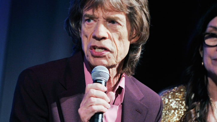 Mick Jagger Opens Up About L'Wren Scott, James Brown Biopic