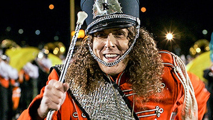 'Weird Al' Leads Nerdy Marching Band in 'Sports Song' Video